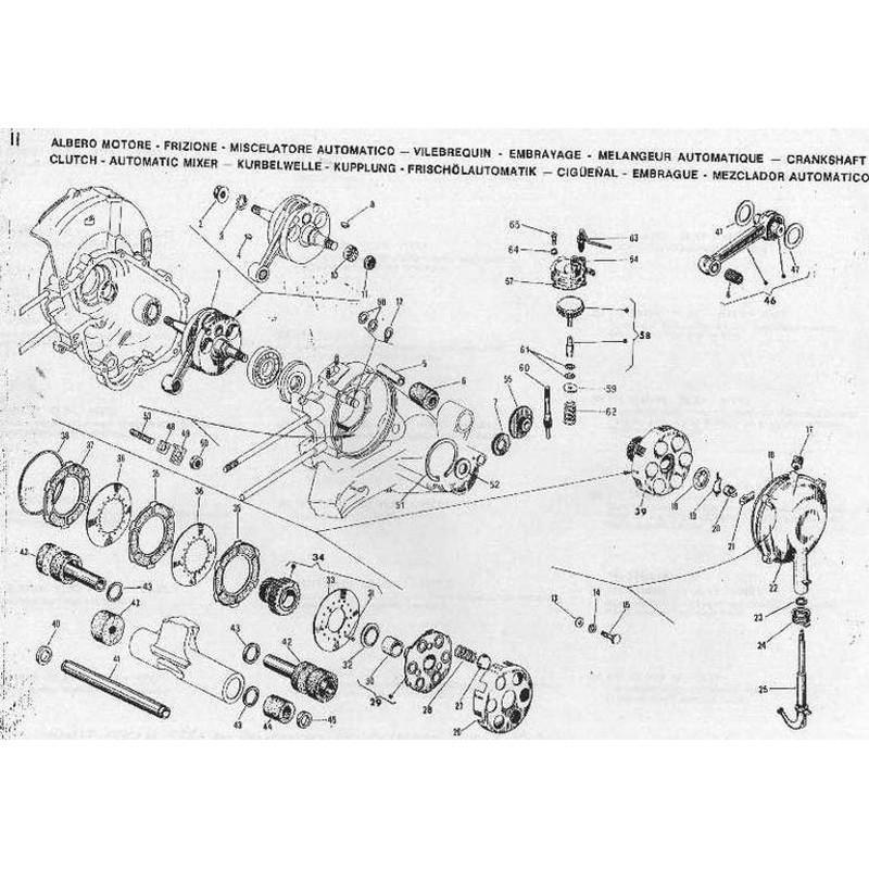 Kit revisione motore Vespa...