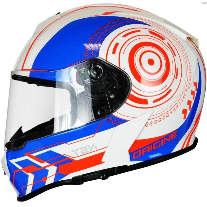 Casco Origine GT TEK Blue/Red