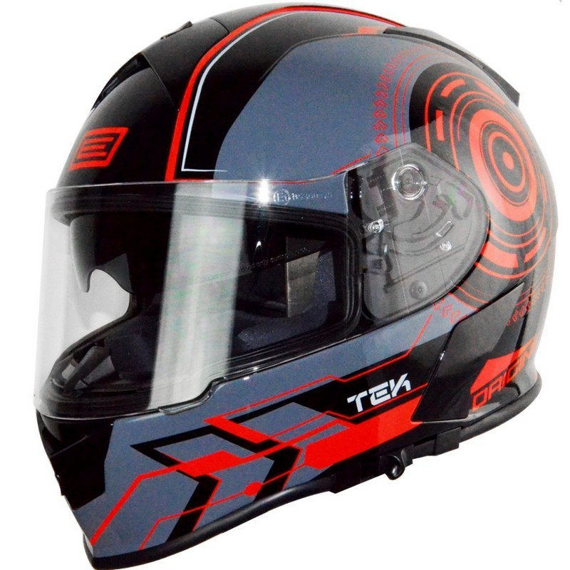 Casco Origine GT TEK Red Fluo