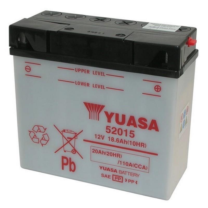 BATTERIA YUASA 52015 12V/20AH