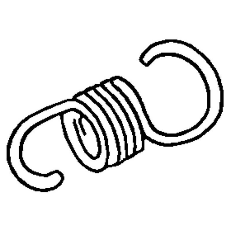 Molla fissa ganasce - Ape TM