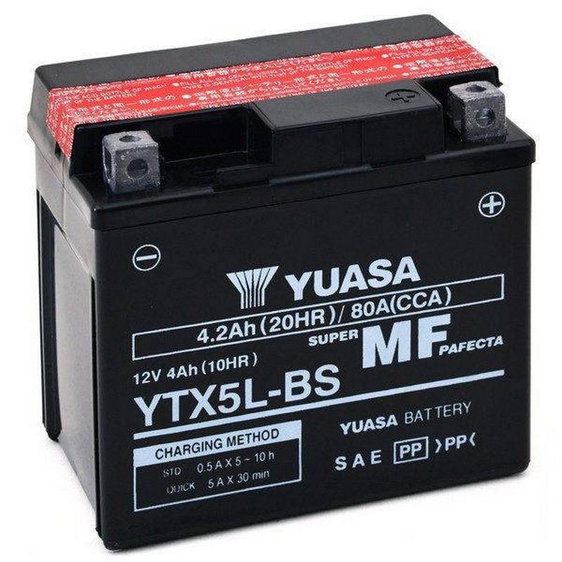 Batteria YUASA YTX5L-BS...