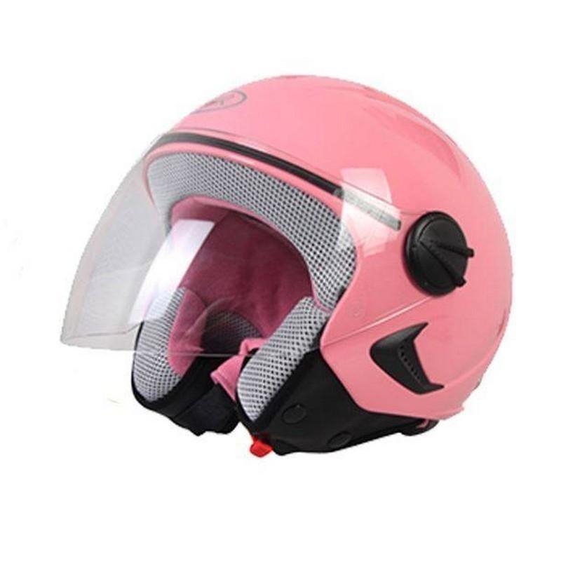 Casco bimbo rosa