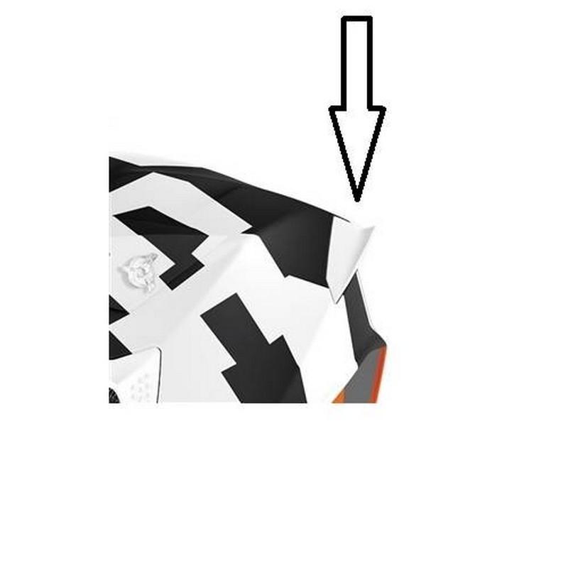 Spoiler posteriore white...