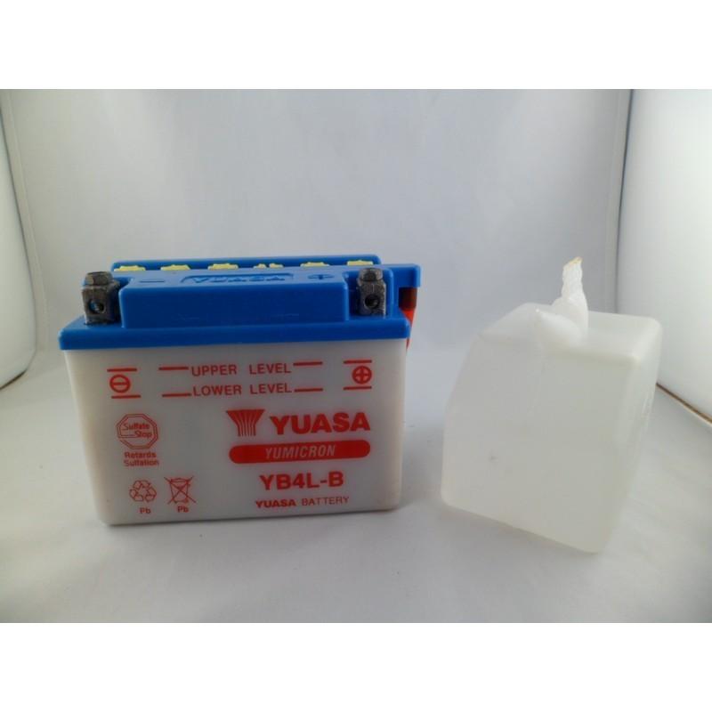 Batteria YUASA  YB4L-B  con...