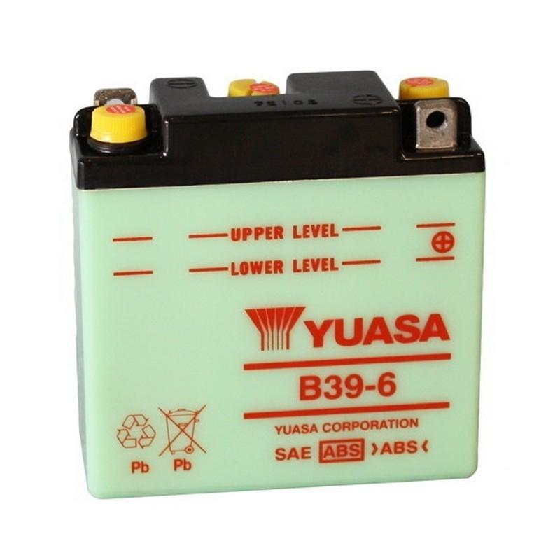 Batteria YUASA B39-6  6Volt...