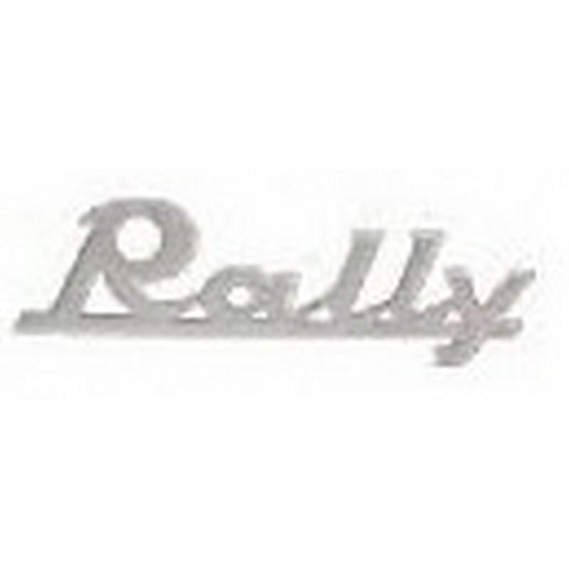 """Targhetta """" Rally """""""