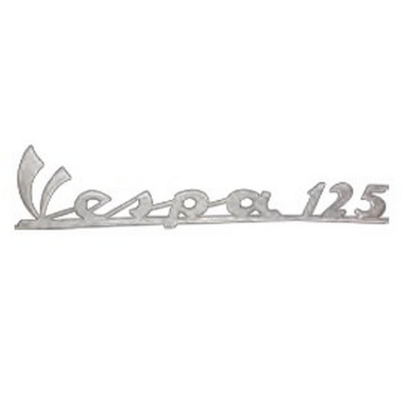 """Targhetta """" Vespa 125 """""""