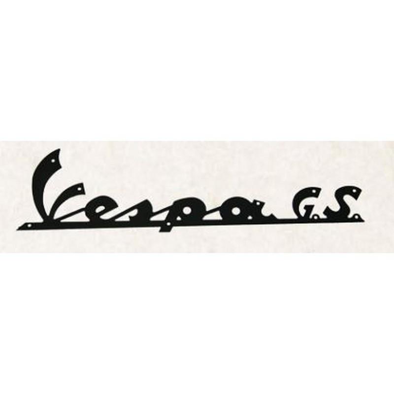 """Targhetta """" Vespa G.S. """""""