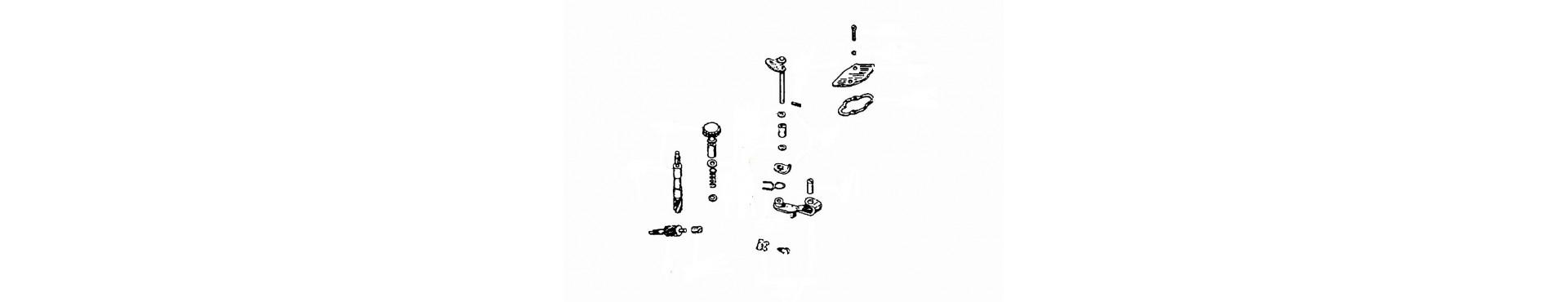 Miscelatore e pompa olio componenti Ape